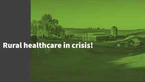 Rural healthcare in crisis!