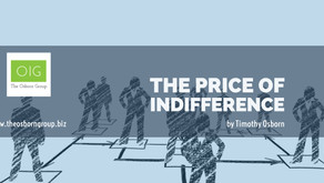The Price of Indifference