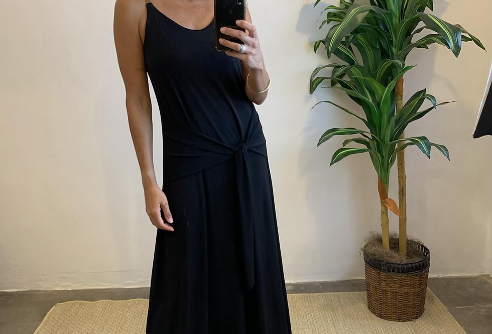 Vestido Faixa Preto
