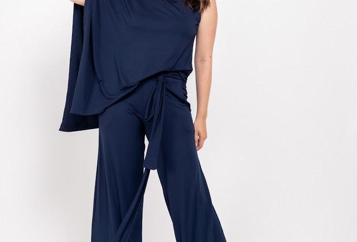 Blusa Capa Azul