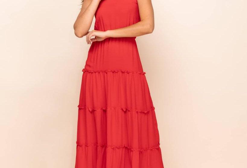 Vestido Celebration Red