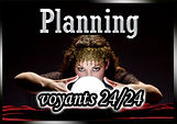 planning voyance par telephone