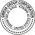 Stamp Of Gweva Group Corp
