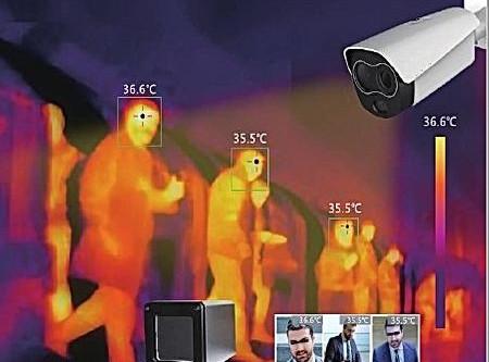体温測定サーマルカメラ