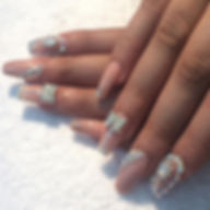 Nägel auffüllen, nagelstudio, Frankfurt am Main