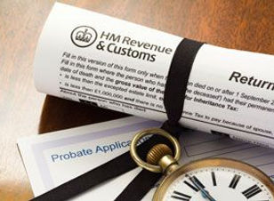 HM Revenue & Customs contents valuation certificate for probate