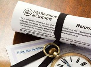 HM Revenue & Customs contents valuation certificate for probate