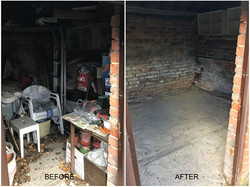 Garage & outbuilding clearance