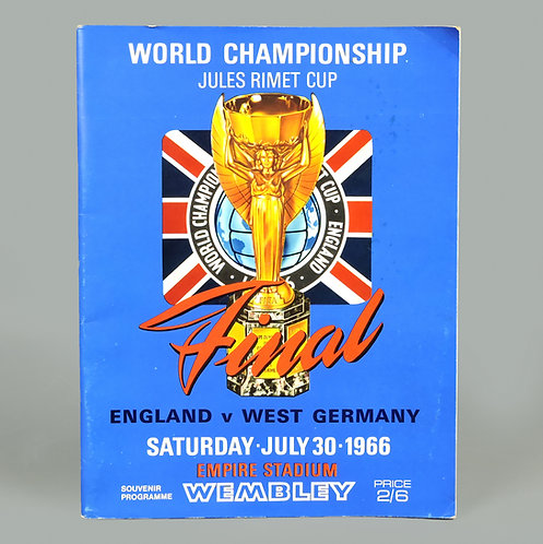 Rare 1966 World Cup Football Programme