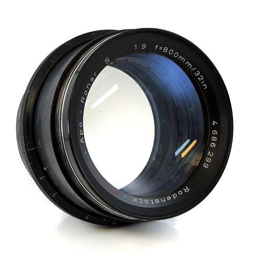 Vintage Rodenstock Apo - Ronar S 1:9 f= 800mm Large Format Lens