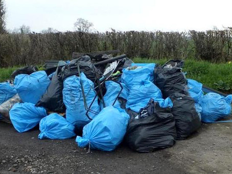 Fly-tipped clearance waste can be traced back to you, you could be fined up to £5,000!