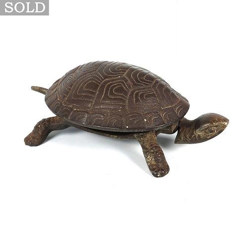 Antique Cast Iron Tortoise Table / Reception Bell