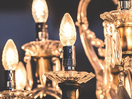 Harrods chandeliers in Bath