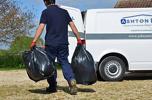 Man and a van waste disposal service on your doorstep. We collect white goods, household rubbish, builders waste and sharps.