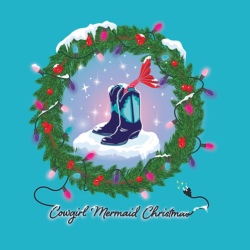 Cowgirl Mermaid Christmas - CD