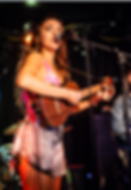Lorena Leigh, ukulele, microphone, live music, concert, Viper Room, female musician, concert