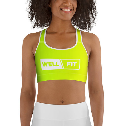WELLFIT Sports Bra Lime