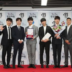 BTOB, ทูตการท่องเที่ยวกิตติมศักดิ์ ขององค์การส่งเสริมการท่องเที่ยวเกาหลี ประจำปี 2018