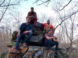 The Boys on a Rock