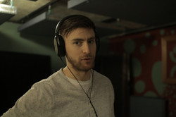 Zach Listening to Slipknot
