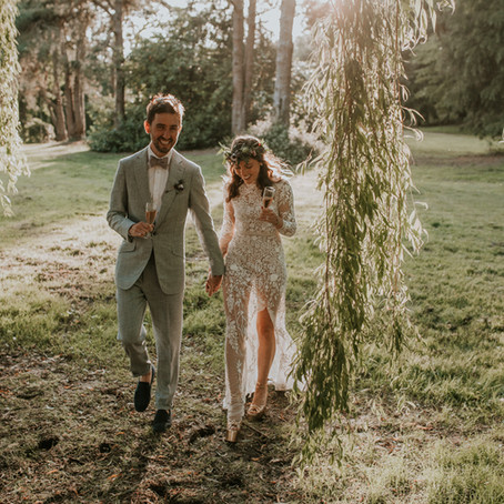 Cait + Liam ~ A woodland wedding at Happy Valley, Norfolk