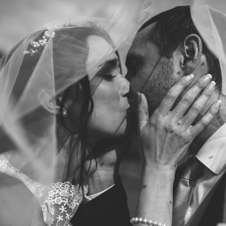 Mel + Dafydd ~ A hometown marquee wedding in Framingham, Suffolk