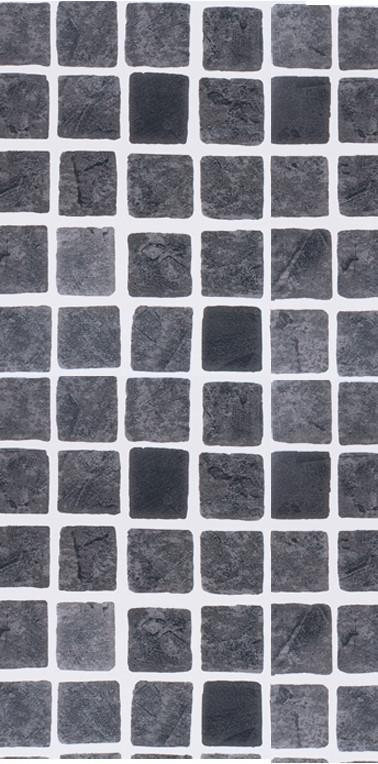Mönstrad Perisa black mosaik