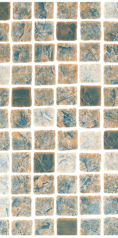 Mönstrad Persia sand mosaik