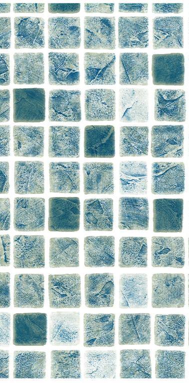 Mönstrad Persia blågrå mosaik