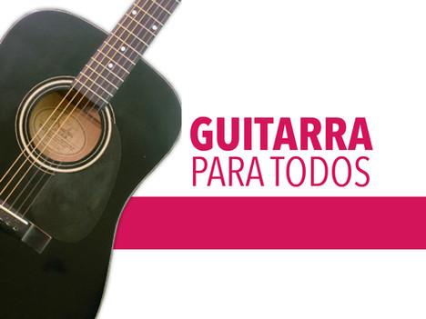 Curso de guitarra para niños y niñas en línea
