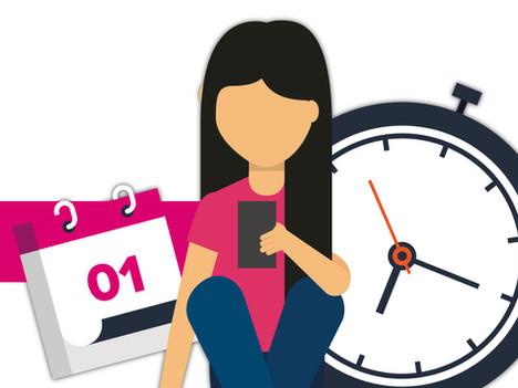 Si la vida no te alcanza, ¡toma un curso para aprovechar el tiempo!