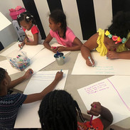 Our Dolls spent part of the day creating their business plan and one of our Glam Dolls wants to open her own slime business! _SLIME TIME_#gl