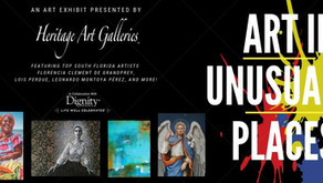 "Heritage Art Galleries presents ""Art in Unusual Places"" Exhibit at Bailey Memorial"
