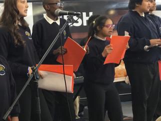 Choir raise money for charities