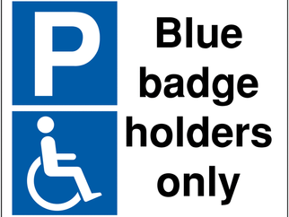 Blue badge