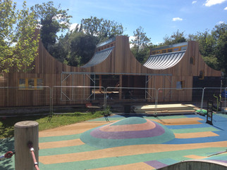 Woodland classroom continues to blossom!
