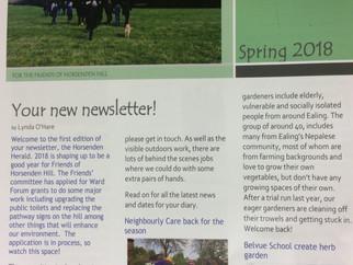 Newsflash, Belvue make it into Horsenden Herald