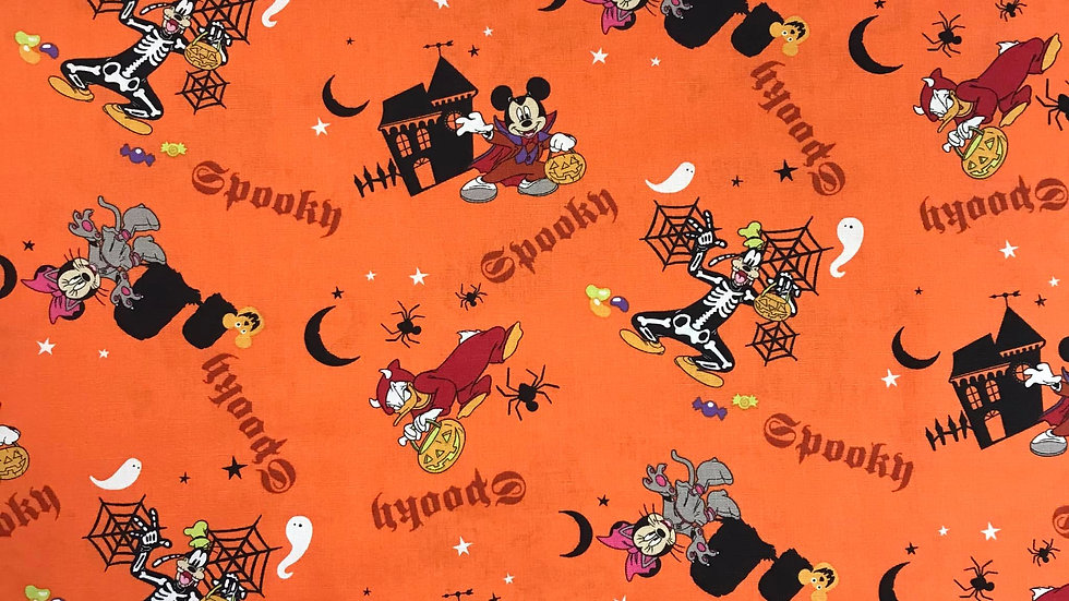 Disney Halloween (Orange)