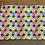 "Thumbnail: Rainbow Epcot Zipper Pouch (8.5""x6.5"")"