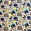 "Thumbnail: WDW 50th Anniversary Zipper Pouches (8.5""x7.5"")"