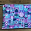 "Thumbnail: It's a Small World (purp./pink) (8.5""x6.5"")"