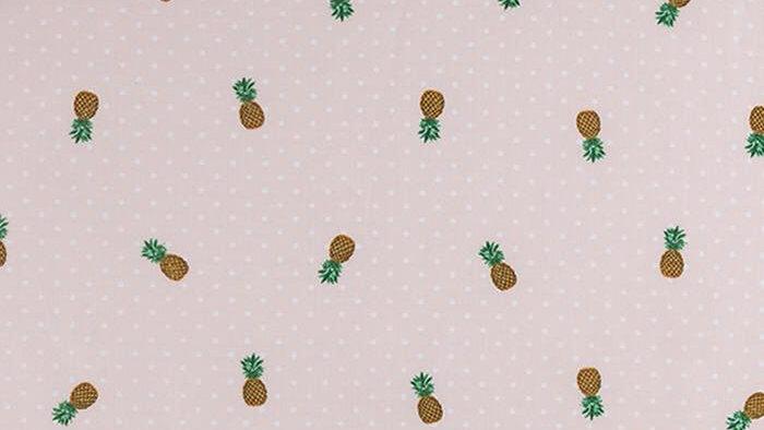 Pineapple Polka Dots (soft peach)