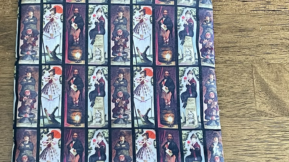 """Haunted Mansion Stretching Portrait Zipper Pouch (6.5""""x6.5"""")"""