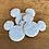 "Thumbnail: Blue Mickey Glitter Varsity Patch 2"""