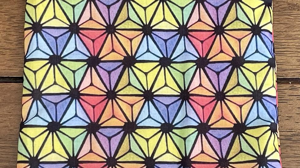 "Rainbow Epcot Zipper Pouch (6.5""x6.5"")"