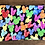 "Thumbnail: Watercolor Balloons Zipper Pouch (8.5""x7.5"")"