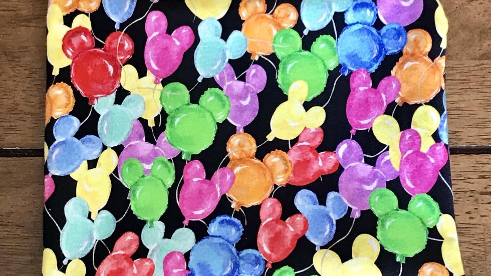 """Watercolor Balloons Zipper Pouch (8.5""""x7.5"""")"""