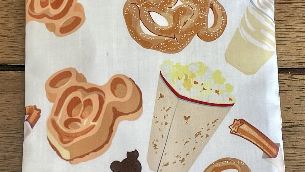 "Disney Hungry Zipper Pouch (6.5""x6.5"")"