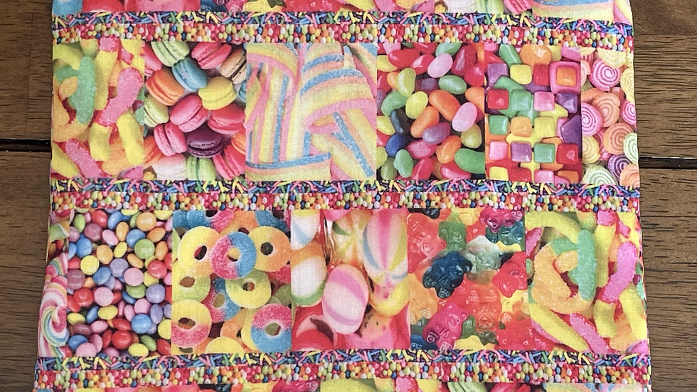 """Sweets and Treats Zipper Pouch (8.5""""x6.5"""")"""
