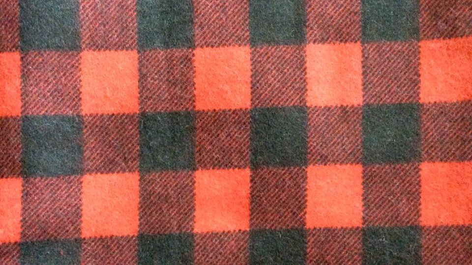 Red and Black Plaid (Flannel)
